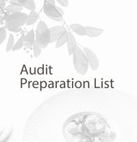Batchelder Accountant Audit Prep List